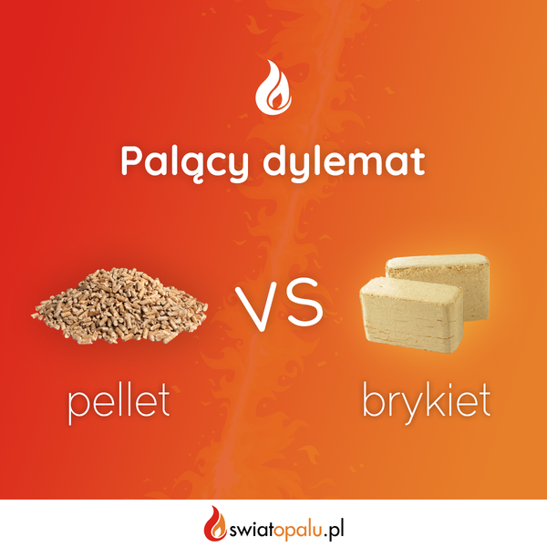 Post facebook pellet vs brykiet